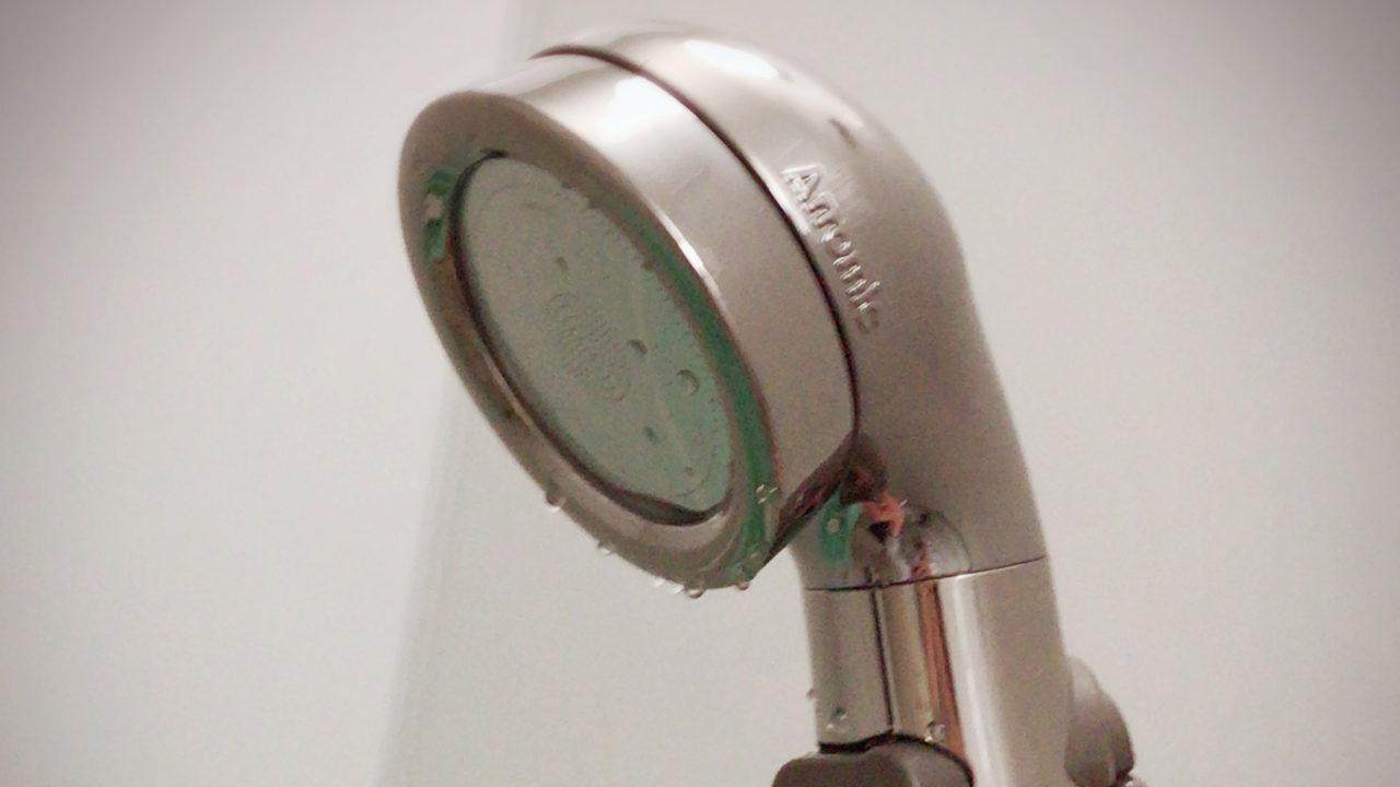 節水シャワーヘッド Arramic